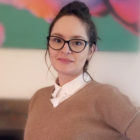 Adelina Matenciuc, ancienne étudiante