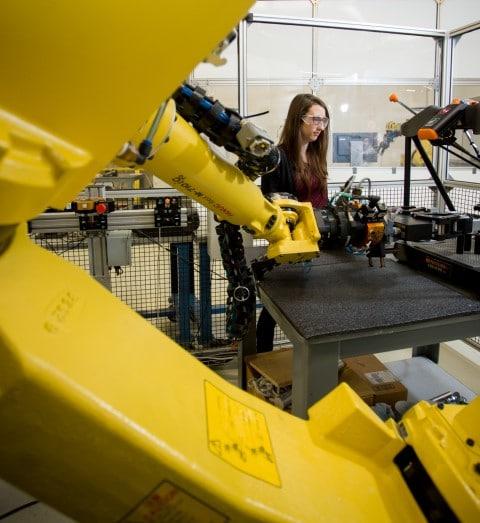 Préparation démonstrations robots